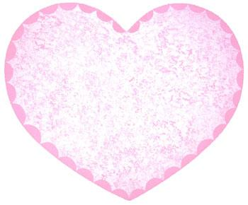 Of wall things heart sponge painted selection page for Heart shaped bulletin board