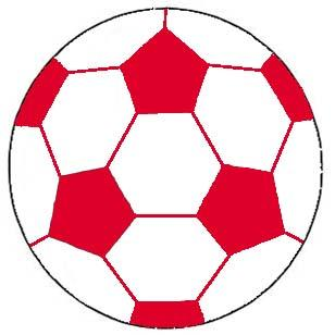 Of Wall Things: Soccer Ball shaped bulletin board